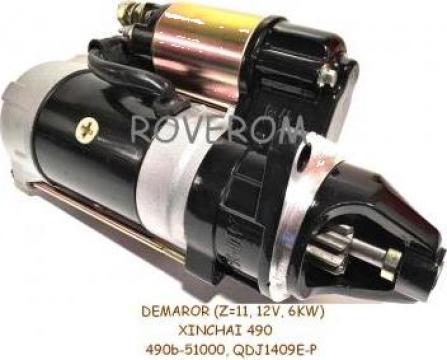 Demaror Xinchai 490, 490BPG (Z=11, 12V, 3.2KW)