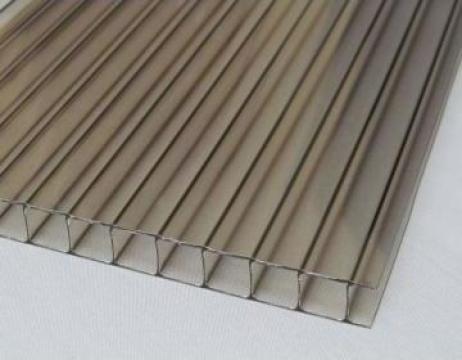 Policarbonat fumuriu 6mm cu protectie UV de la Vindem-ieftin.ro