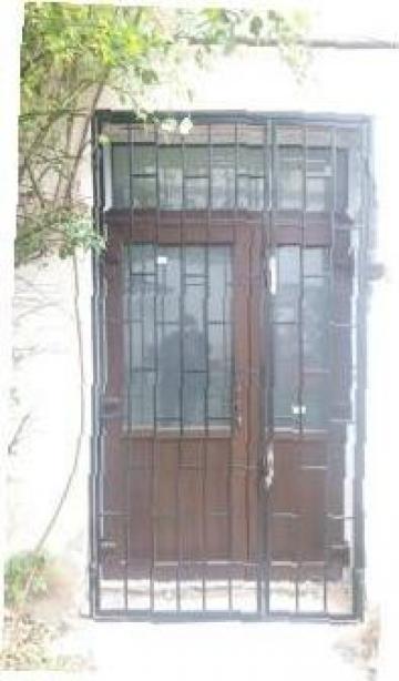 Gratii sudate pentru usi si ferestre de la Profoserv Srl.