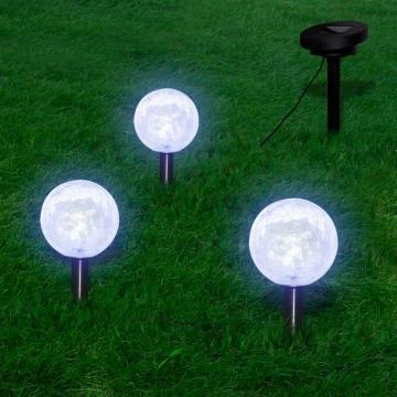Instalatie cu LED-uri si panou solar pentru gradina