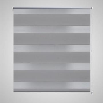 Jaluzea opaca, gri zebra 80 x 150 cm
