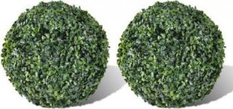Arbusti ornamentali artificiali 27 cm 2 buc