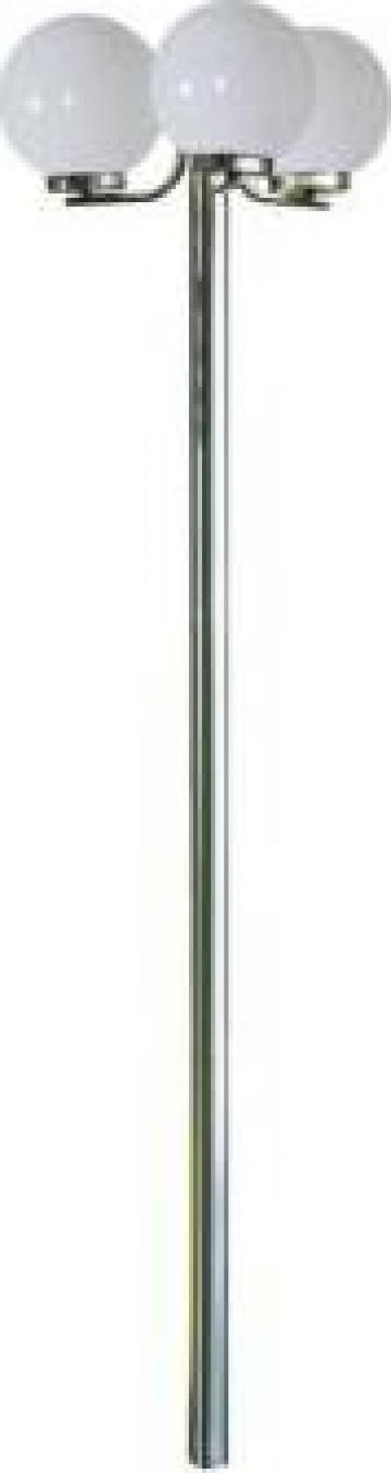 Stalp de gradina cu 3 becuri 220 cm