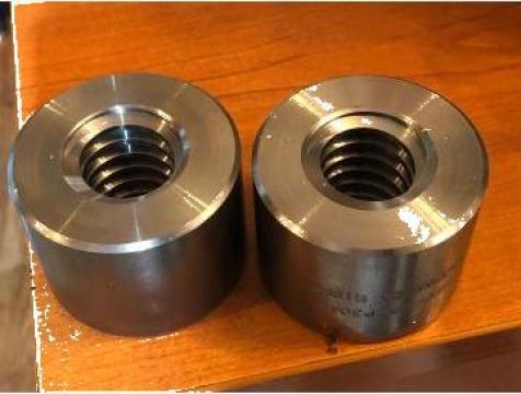 Piulita MZP 30 AR, 30 x 6 mm din otel cilindric de la Baza Tehnica Alfa Srl