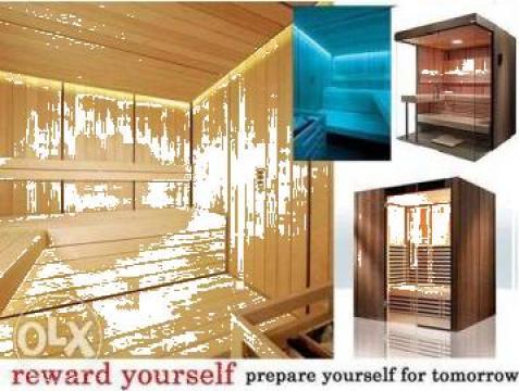 Biosauna, saune profesionale de la Saune Brasov Srl