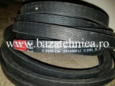 Curea de transmisie trapezoidala 22x5500 mm Li, Rubena