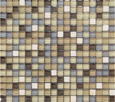 Mozaic piatra naturala si sticla MMX004 de la Settimo Concept