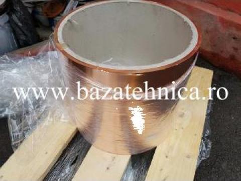 Platbanda din cupru moale 0.2 x 300 mm de la Baza Tehnica Alfa Srl