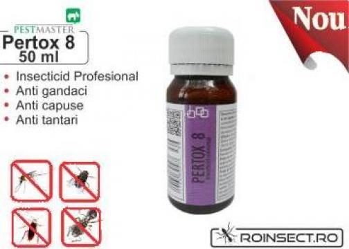 Solutie anti gandaci, muste, tantari Pertox 8 - 50ml de la Agan Trust Srl