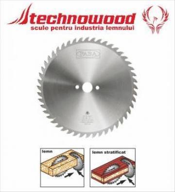 Panze circulare pentru taiere transversala Faba de la Technowood Srl