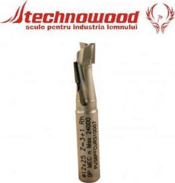 Freza diamantata, cu coada, Z=1 de la Technowood Srl
