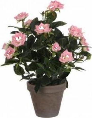 Flori artificiale in ghiveci - trandafiri de la Nextprofil - Qdecor.ro