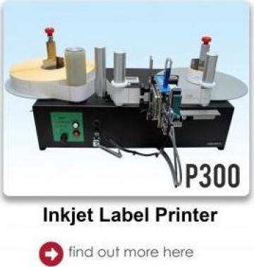 Sistem inkjet off-line de imprimare etichete de la Labelmark Solution