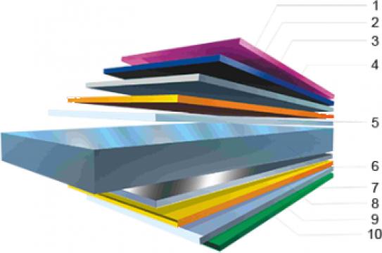 Tigla metalica Bilka de la Astek Concept Construct