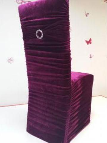Huse scaun elastice catifea de la Anne's Conf