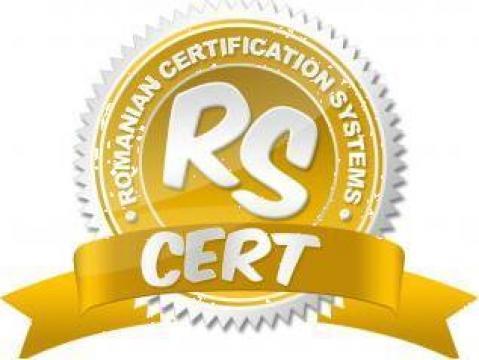 Certificare RS (SA) 8000 de la Rs Cert - Romanian Certification Systems