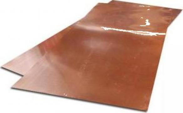 Placi de cupru la diferite dimensiuni si grosimi de la Electrotools