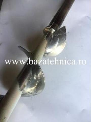 Reparatie snec pentru incarcare faina de la Baza Tehnica Alfa Srl