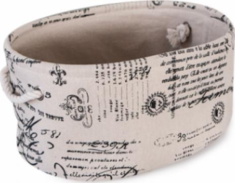 Cos cu scris oval pentrujucarii Raki Masapa de la Basarom Com