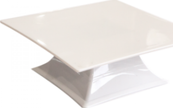 Display cu picior prezentare Raki policarbonat 30x30xh10,5cm de la Basarom Com