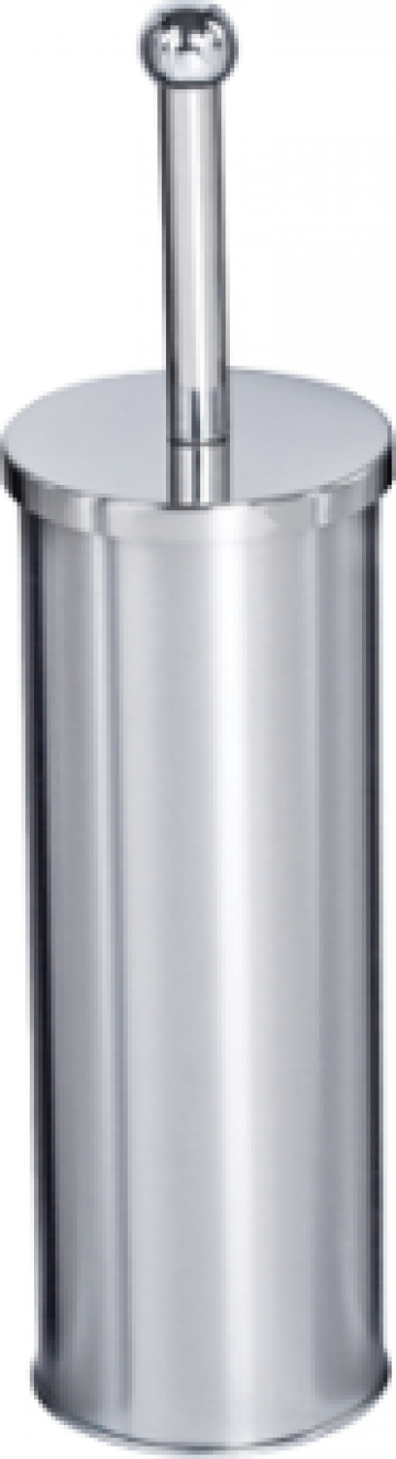 Perie WC cu suport cromat Klasik de la Basarom Com