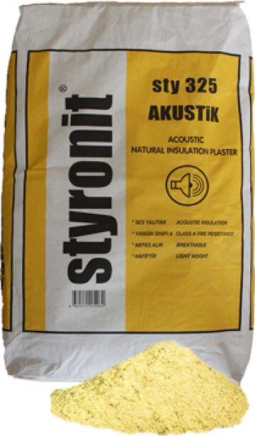 Termoizolatie naturala Styronit Akustik de la Styronit Romania Srl