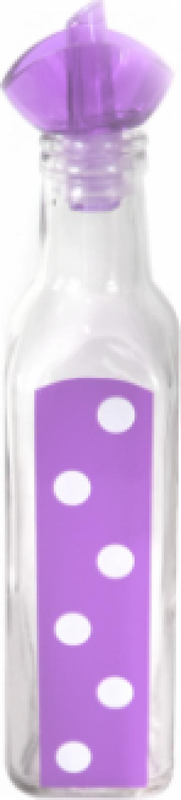 Sticla ulei masline M-151248 250ml mov cu buline de la Basarom Com