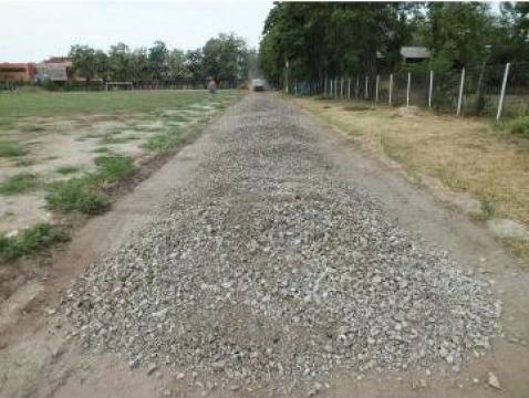 Balast compactabil de Prahova pentru drumuri de la Trans Udroiu Srl