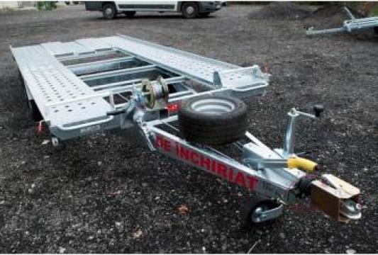 Inchiriere platforma auto 4m basculabila de la Inchirieri Remorci Berceni