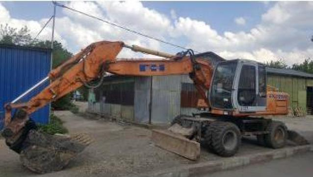 Inchiriere excavator pe pneuri 18 tone