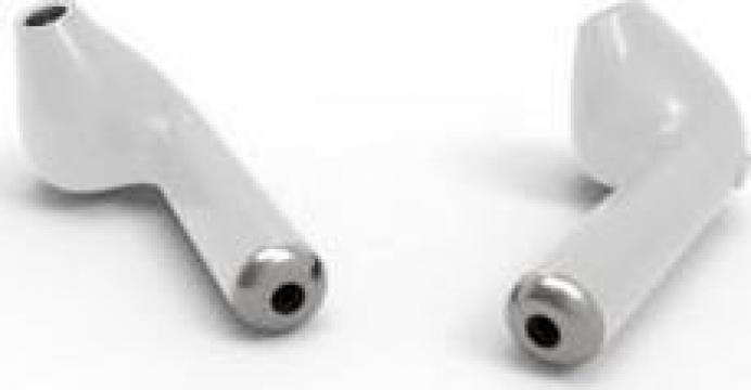 Casti wireless, I7TWS Twins Stereo True Wireless Earbuds V4 de la Jabi For Engineering & Technology Srl