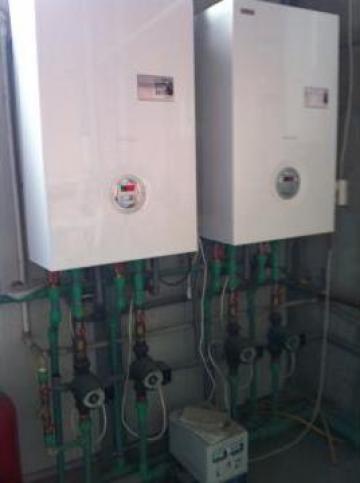 Centrale termice in condensare de la Cetas Climatic Srl