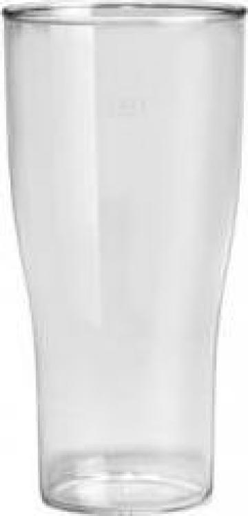 Pahar reutilizabil pentru bere 520cc 80 buc/bax de la Cristian Food Industry Srl.