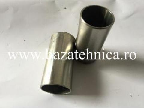 Pipa inox D 30x100 mm, fixare balustrade inox de la Baza Tehnica Alfa Srl