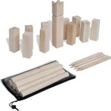 Set de joc Kubb din lemn de la Vidaxl