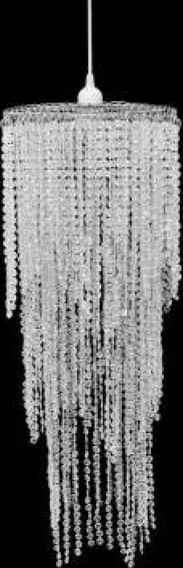 Lampa de tavan cu cristale 26 x 70 cm