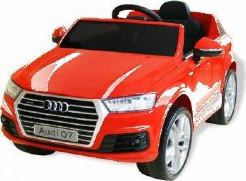 Jucarie masinuta electrica Audi Q7, 6 V, rosu