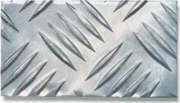 Tabla aluminiu striata 1.5x1000x2000mm Quintet / 5bare
