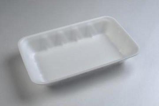 Tavita polistiren PT165 STD (200x140x30mm) 500 buc/bax de la Cristian Food Industry Srl.