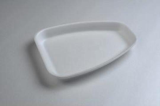 Tavita polistiren CT2 STD (210x165x23mm) 500 buc/bax de la Cristian Food Industry Srl.