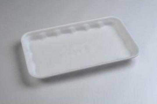 Tavita polistiren PT25 STD (220x180x20mm) 500 buc/bax de la Cristian Food Industry Srl.