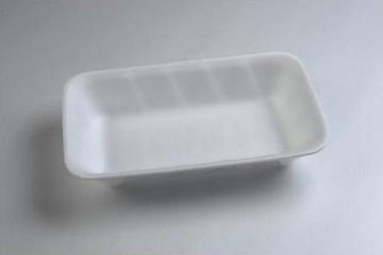 Tavita polistiren MT3 STD (225x135x43mm) 500 buc/bax de la Cristian Food Industry Srl.