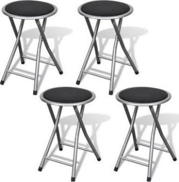 Set 4 scaune pliabile