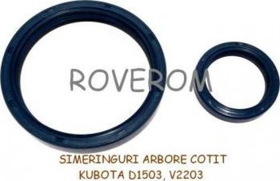 Simeringuri arbore cotit Kubota D1503, V1903, V2203