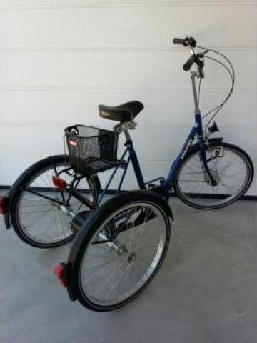 Tricicleta pliabila pentru adulti Haverich DR 24 de la Ortopedia Transilvania