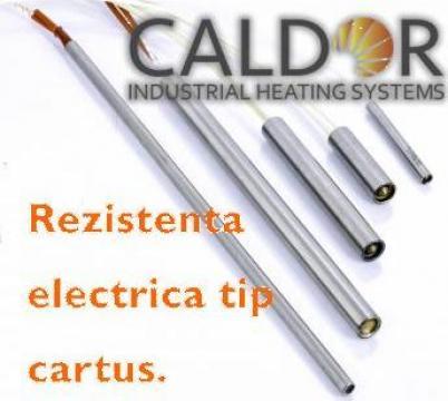 Rezistenta electrica cartus D10xL60x315W de la Caldor Industrial Heating Systems Srl