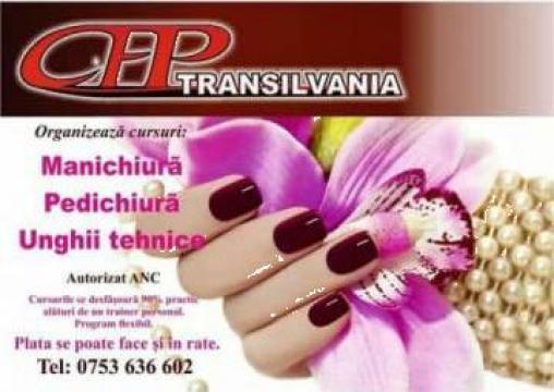 Curs manichiura-pedichiura, unghii-tehnice de la Transilvania Cursuri De Formare Profesionala Srl