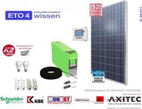 Panouri solare fotovoltaice 12V de la Eto4 Wissen