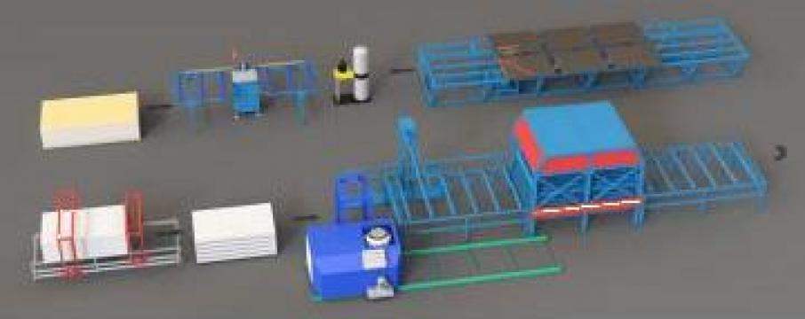 Linii de producere panouri SIP de la FabricaTa