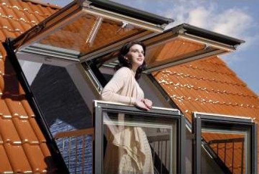 Rama de etansare Fakro pentru balcon galeria de la Sc Ellcor Roof Srl-d